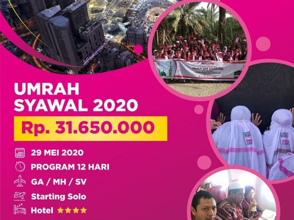Umrah Syawal 2020