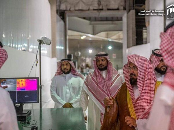 Pasang alat ini untuk cegah merebaknya virus corona di Makkah