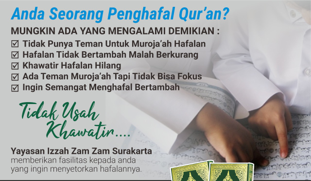 Setoran Hafalan Qur'an