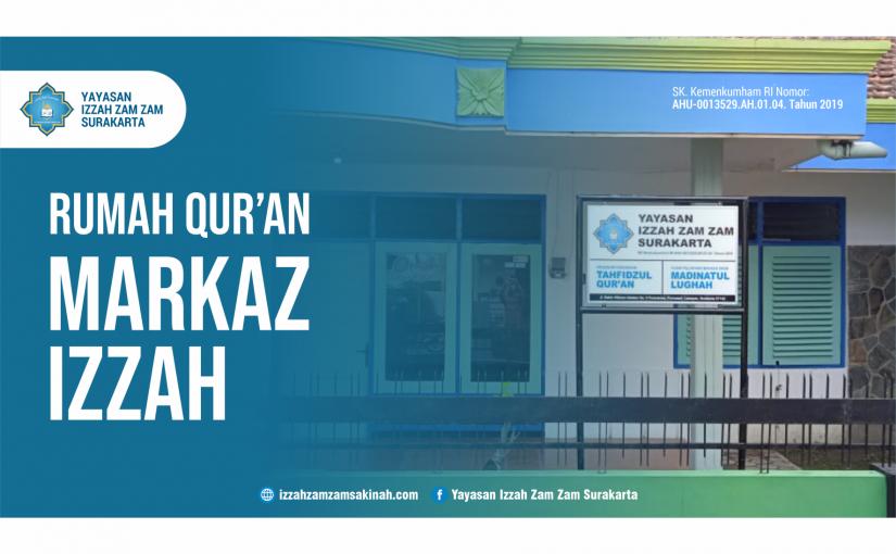 Yuk Bantu Renovasi Fasilitas Rumah Qur'an Markaz Izzah